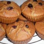 ▷ Muffins de plátano y arándanos 🥧