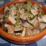 ▷ Chuletas con poche de ensalada 🐖 🥗