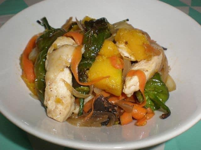 52804e667e51a1ffe5b4b23ad3f56e8f - ▷ Fritura de pollo y verdura 🐓