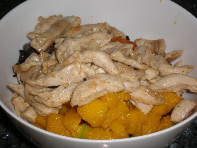 Sacar pollo - ▷ Fritura de pollo y verdura 🐓