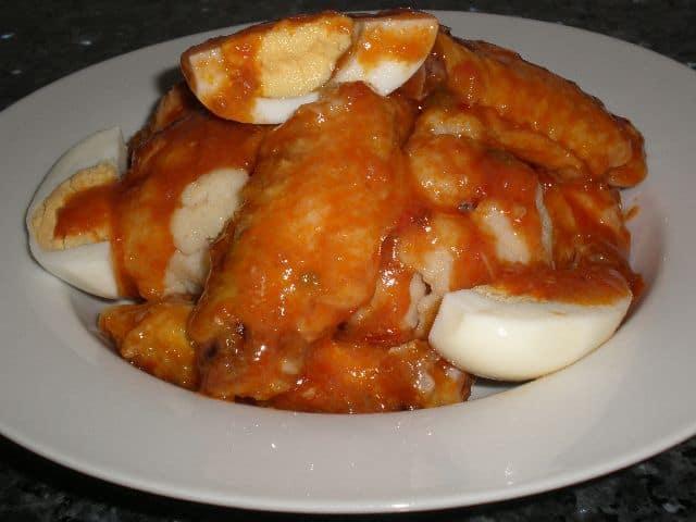Añadir la salsa - ▷ Alitas de pollo en salsa 🍗