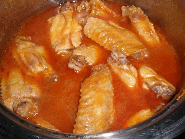 Alitas en salsa - ▷ Alitas de pollo en salsa 🍗