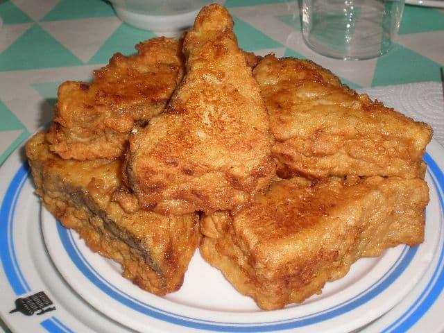 Bacalao con sabor a chicharos 2 - Bacalao con sabor a chicharos