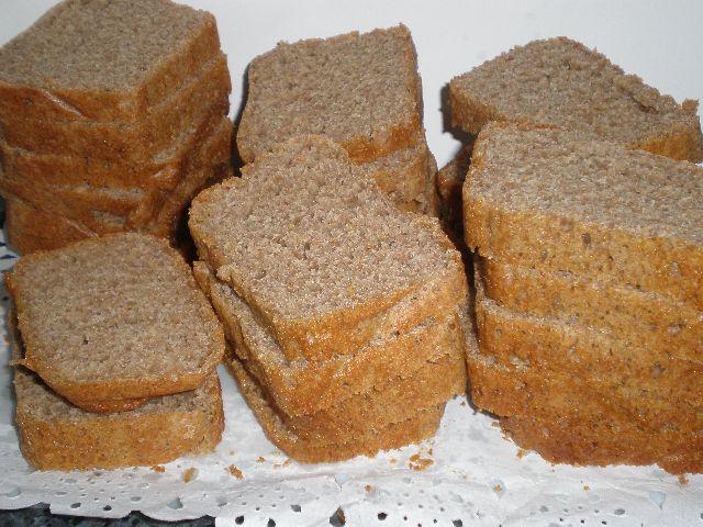 Pan de molde troceado
