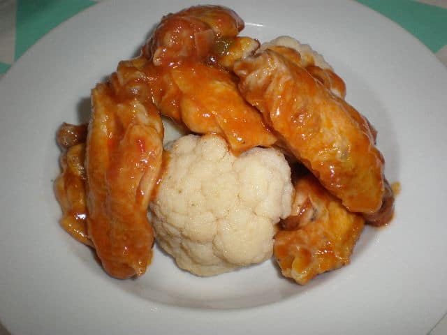 Ración de alitas - ▷ Alitas de pollo en salsa 🍗