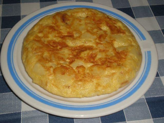 Tortilla al Jerez 1 - Tortilla al Jerez