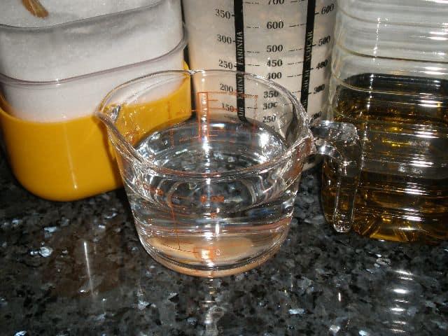 Agua sal y aceite - Pizza de champiñones y jamón