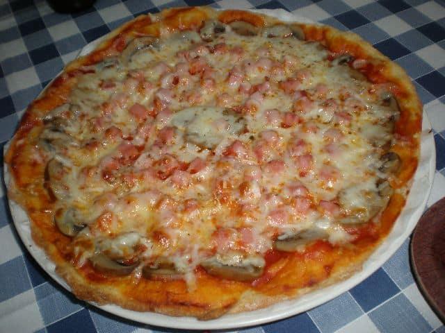 Pizza de champiñones y jamón 2 - ▷ Pizza de champiñones y jamón 🍕