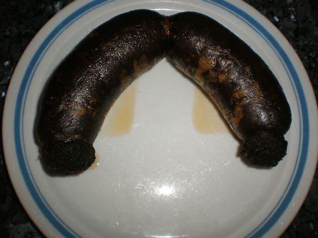 Morcillas fritas - Morcillas rebozadas con gofio