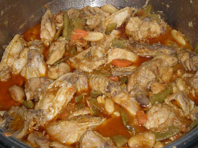 Pollo en sasla con verdura 2 - ▷ Pollo en salsa de verdura 