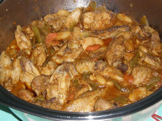 Pollo en sasla con verdura 3 - ▷ Pollo en salsa de verdura 