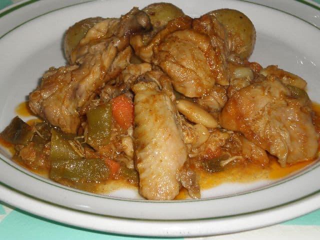 Pollo en sasla con verdura 5 - ▷ Pollo en salsa de verdura 