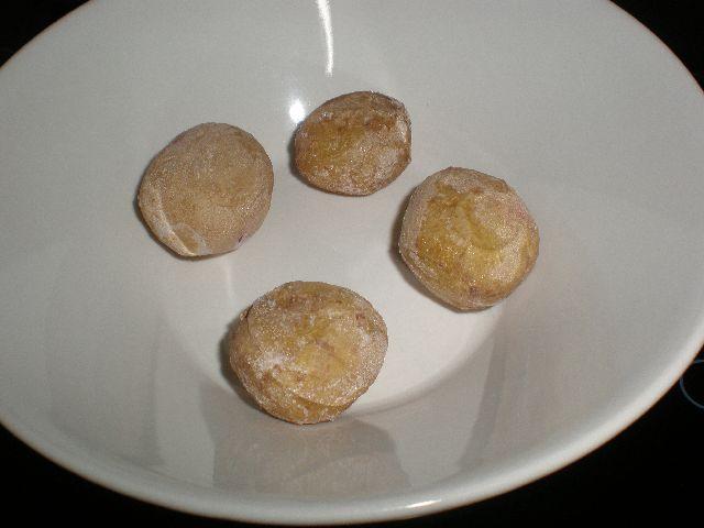 Raci%C3%B3n de papas arrugadas - Pollo al vino blanco