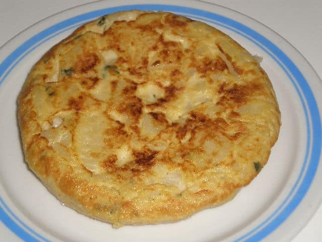 Tortilla condimentada