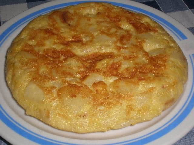 Tortilla al Jerez