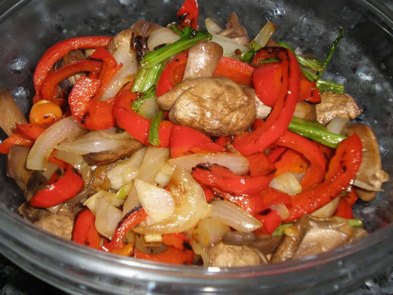 Baturrillo de verduras salteadas