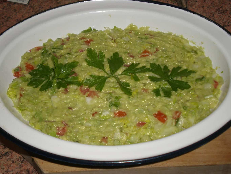 Guacamole casero