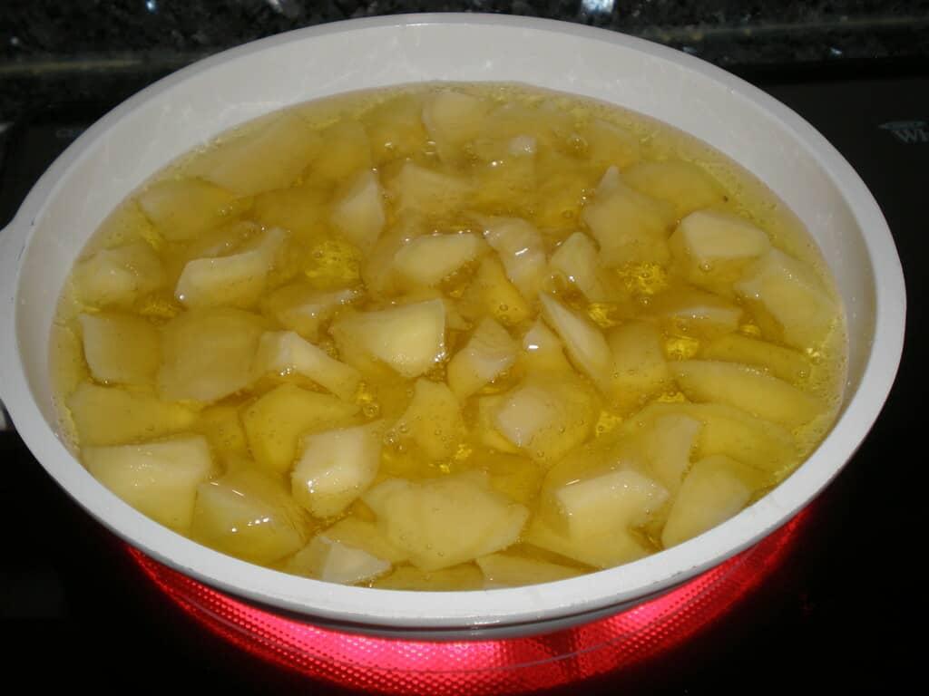 Freír las papas