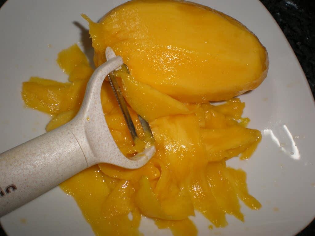 Partir el mango