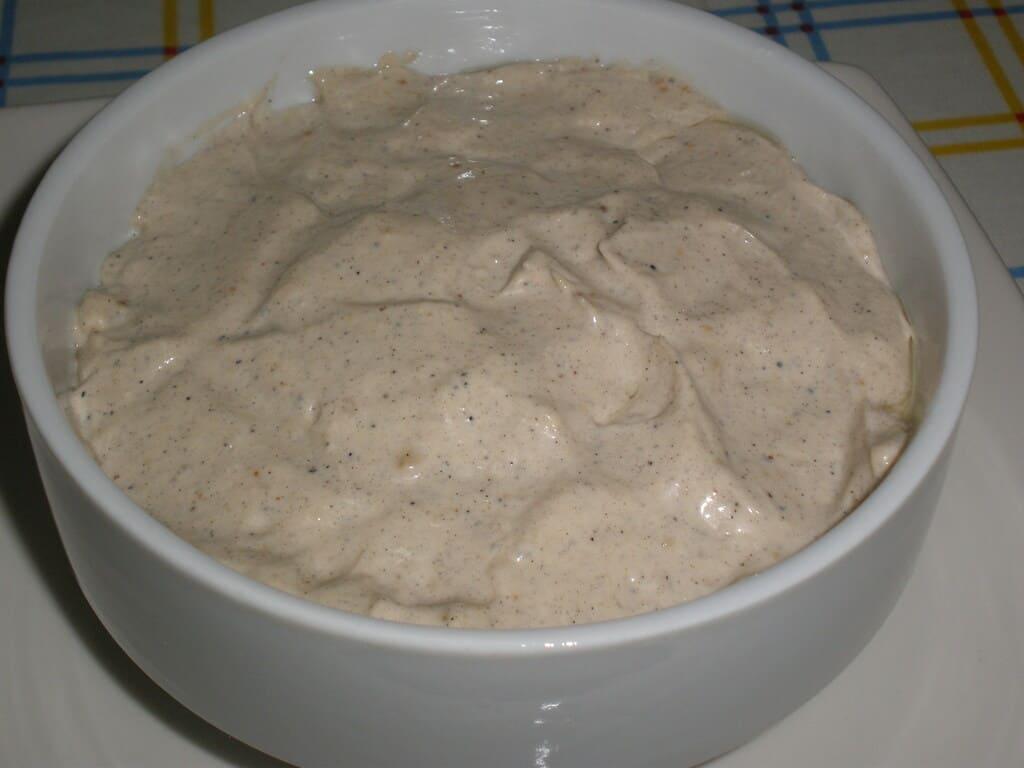 Mayonesa de ajo tostado