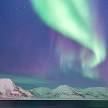 Imagina auroras boreales