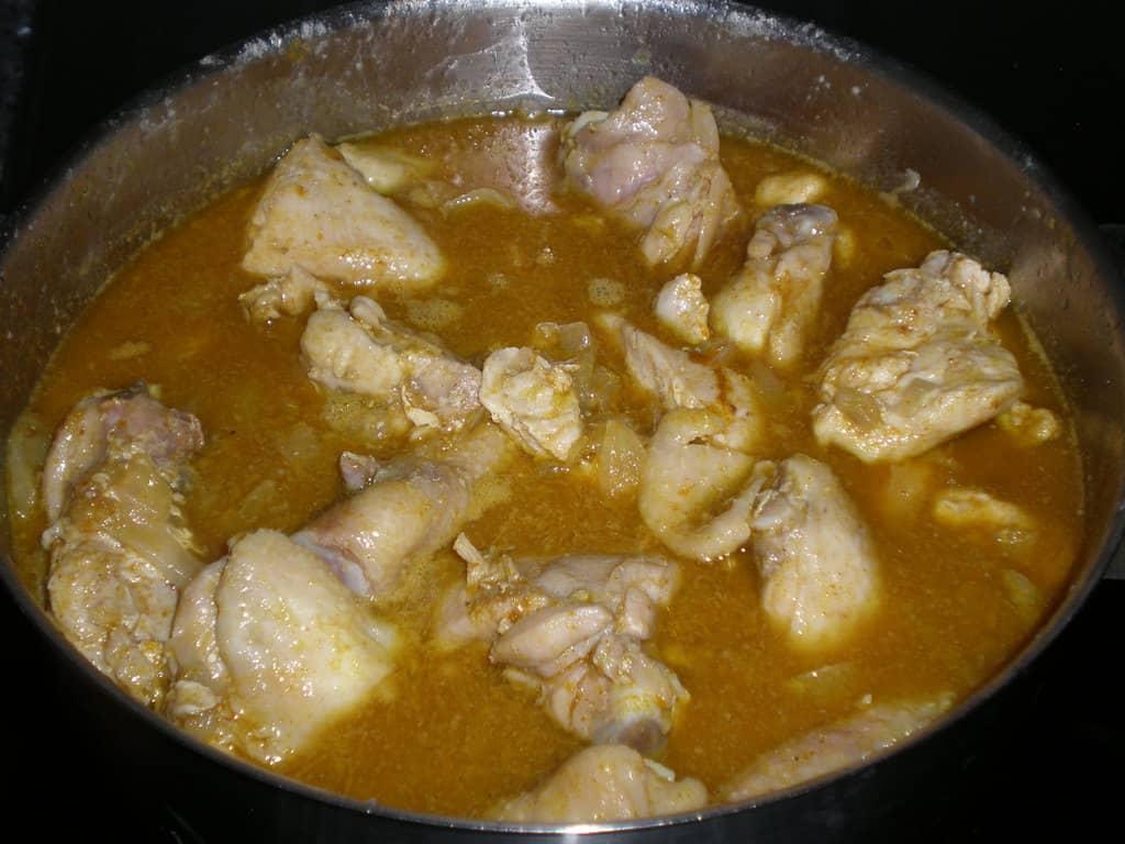 Pollo con vinagreta