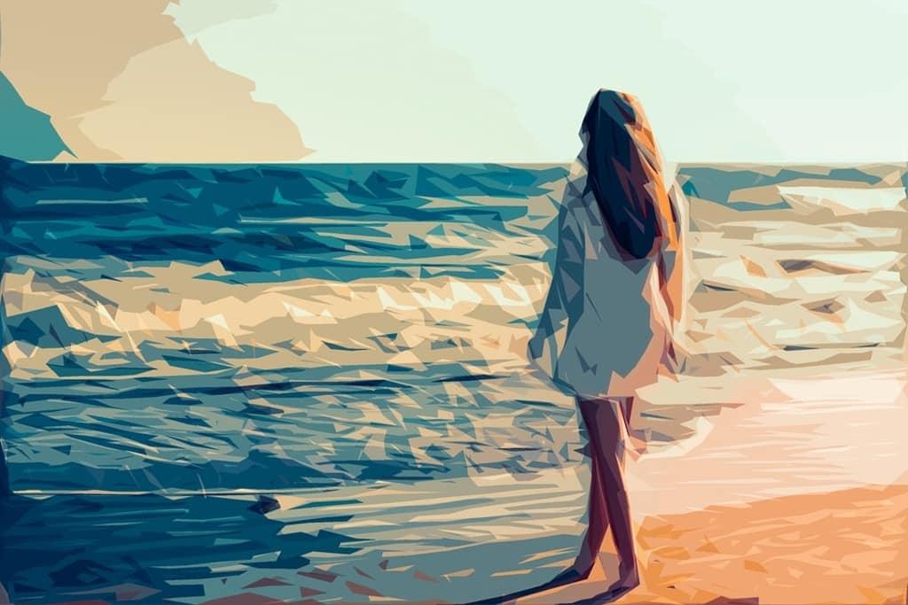 Las olas al batir