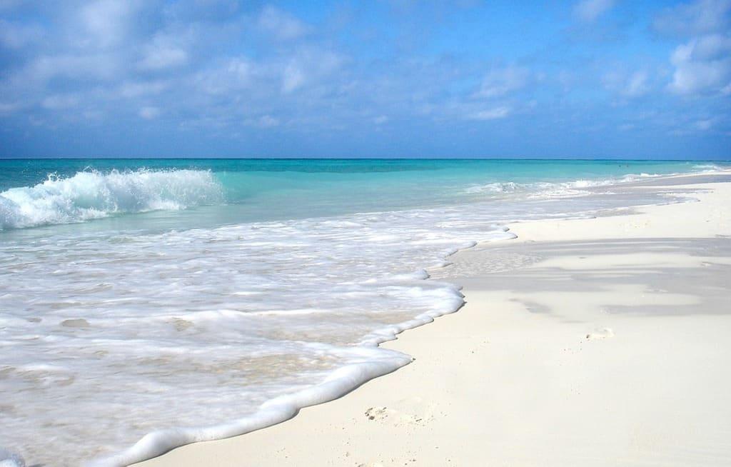 Mar playa y arena